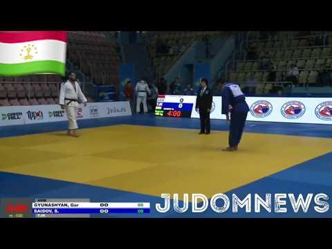 -100kg Saidov SAIDZHALOL (TJK) - (ARM) GYUNASHYAN Gor 13.05.2018 EUROPEAN CUP RUSSIA ORENBURG 2018