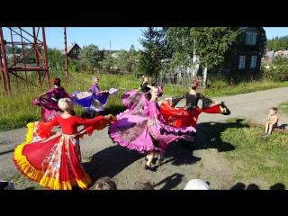 Танец румынских цыган. 28.07.18