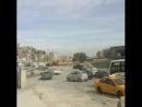 Wir sind gestartet. Wir fahren zunächst in einer 4er Busskolonne bis zum Autobahnzubringer. Der Beschuss aus Ghouta /Jobar ist h