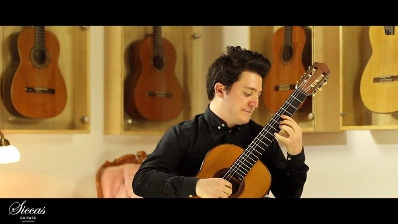 Gian Marco Ciampa plays Schottish-Choro by Heitor Villa-Lobos on a 1928 Hermann Hauser I