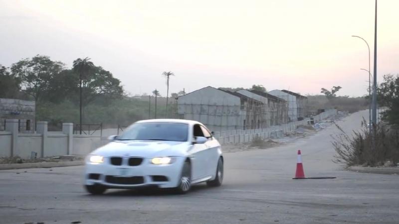 BMW M3 E92 Crash Track Circuit