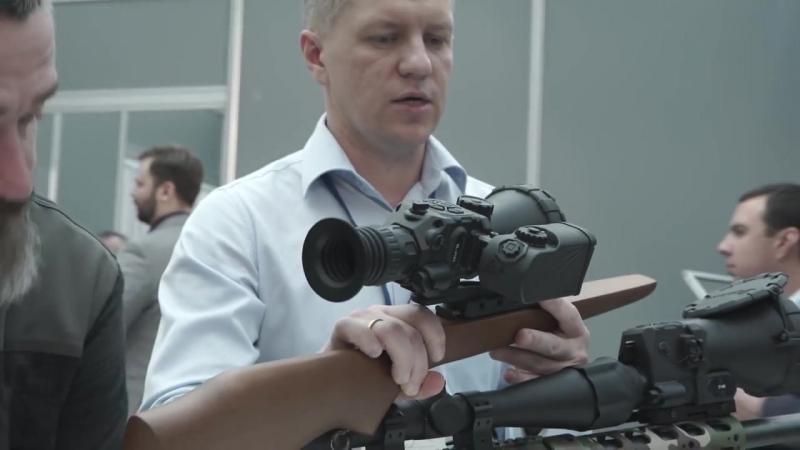 Российские тепловизоры от Fortuna на винтовках Lobaev для спецназа армии и охот