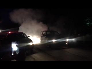 E30 M5 Burnout