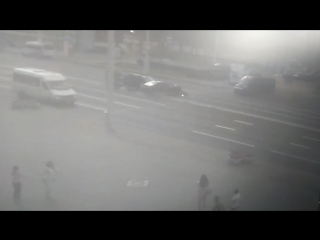 ДТП Минск, возле ЦУМа