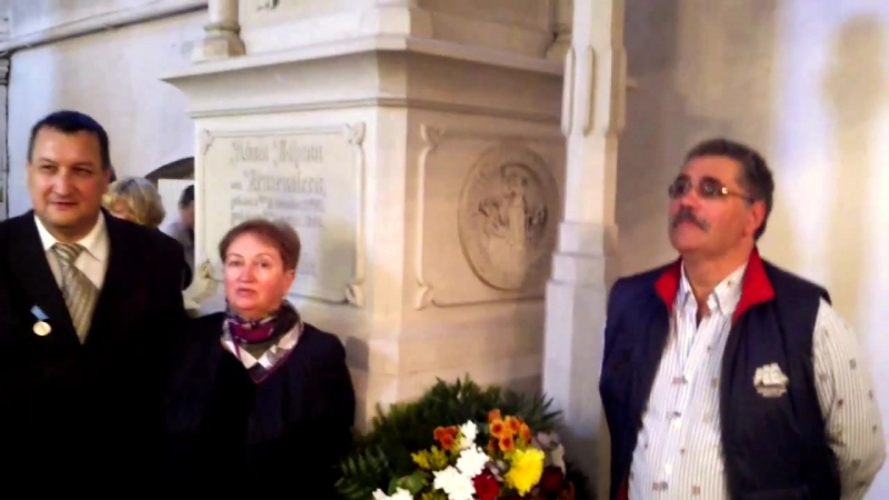 Домский собор надгробие Крузенштерна