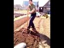 Огородная лентяйка- чудо лопата.