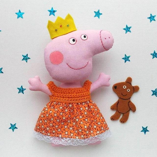 пеппа свинка игрушка