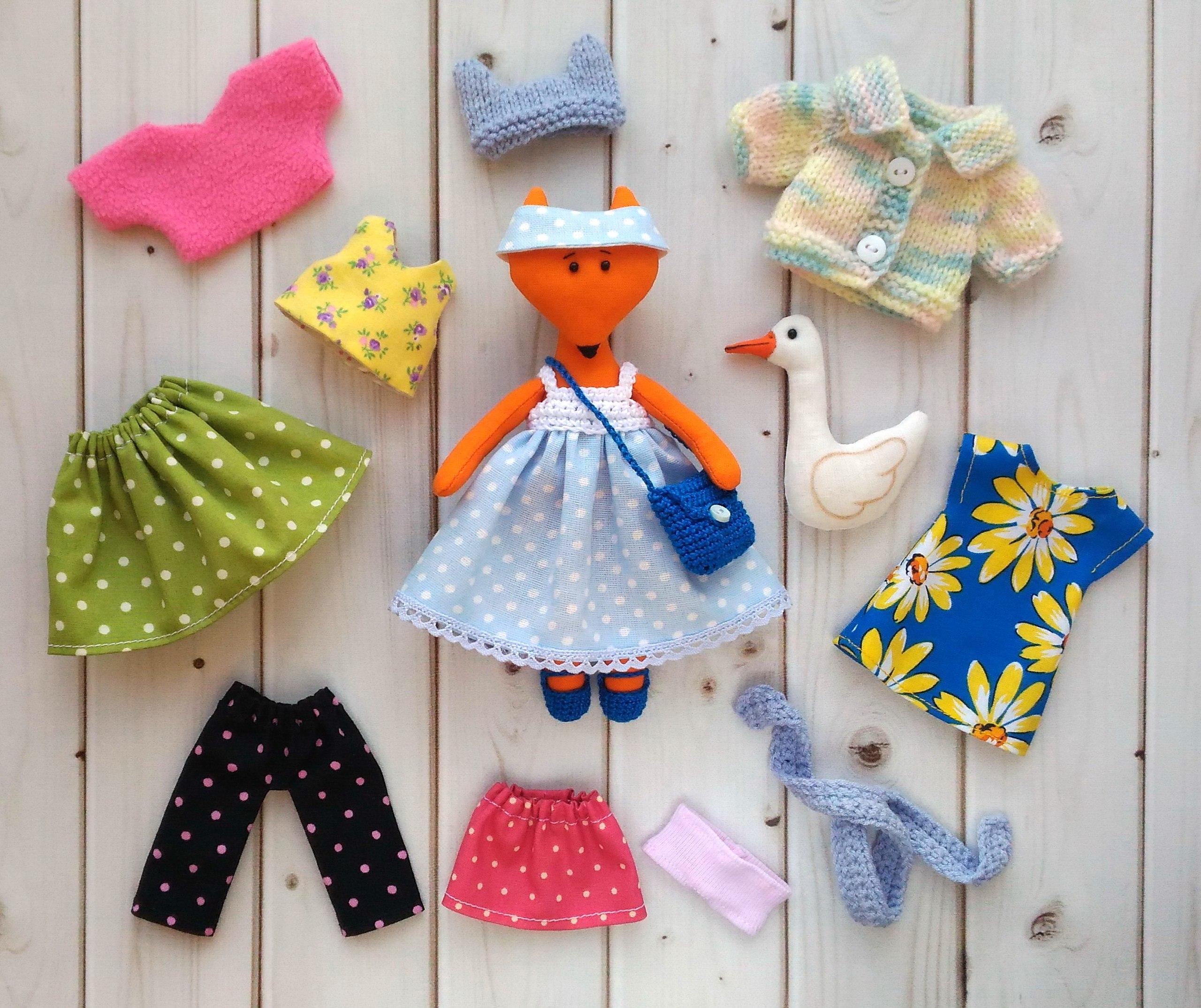 комлект одежды для игрушки