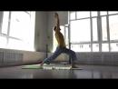 Аштанга-виньяса-йога Приветствие солнцу часть 2