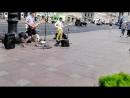 Питер, уличные музыканты.