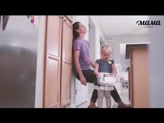 Взгляд мамы и ребёнка на день l lucky craft – подпишись