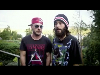 Jared & Shannon Leto | About Chester Bennington