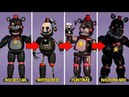 Types of animatronics Five Night at Freddy's Fan Made 2