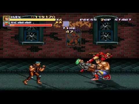 Streets of Rage Remake (v5.1) (PC) Route 1 (Mania) (Max) Walkthrough