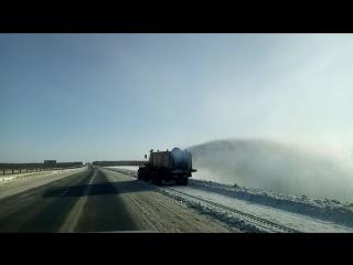 Автомобильные дороги федерального значения продолжают очищать