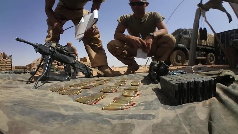 Force Barkhane : le quotidien du désert