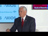 US Vice President Mike Pence says he ignored Kim Jong Un's sister
