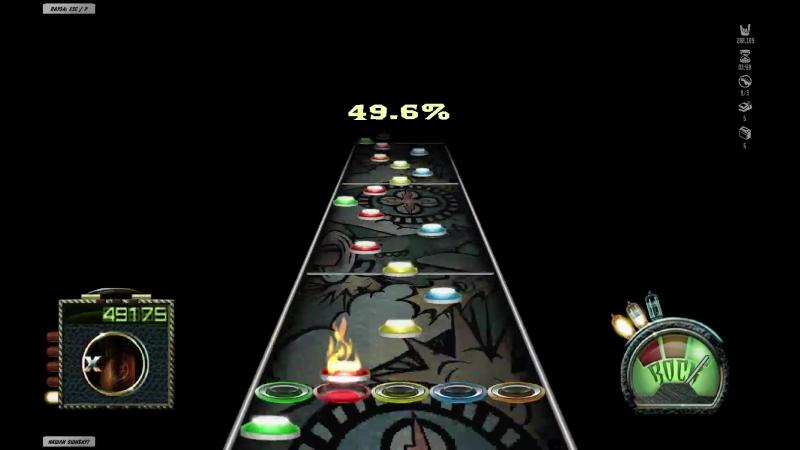 Юрий Карпов Dream Theater John Petrucci Solo (Guitar Hero)
