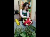 Собираем 87 цветных крупных роз - 4550р