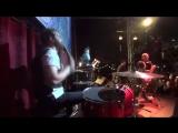 Tinavie - Open the Door (Drum Cam)