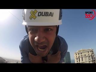 zipline at XLine Dubai