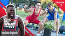 Strongman Competition w/ Rhett Link | Kevin Hart: What The Fit Episode 7 | Laugh Out Loud Network
