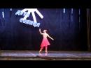 Вариация Никии из балета Баядерка