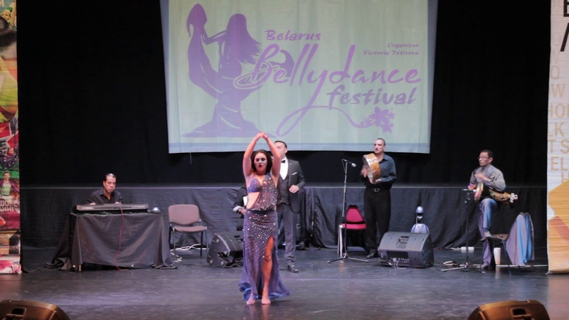 Анастасия Шоломицкая Гала шоу Belarus Bellydance Festival