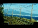 JR Tōkaidō Main Line driver's view from Atami to Tokyo on Rapid Acty in Japan