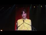 Речь Дакоты ( премия CinemaCon Big Screen Achievement Awards)