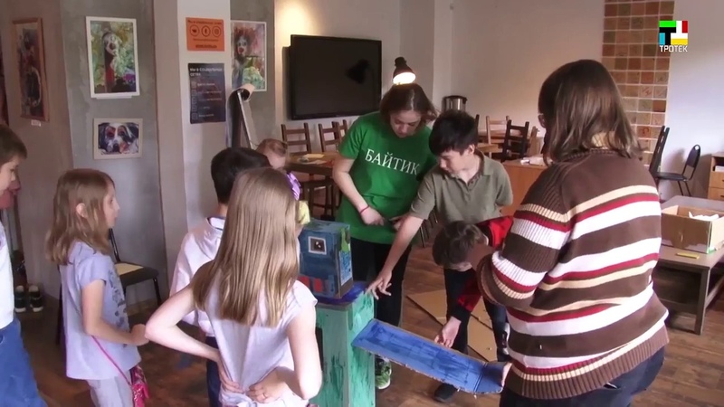 Сюжет ТТ ТРОТЕК про летние образовательные смены 2018