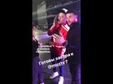Ани Лорак, Дима Билан и Эмин на репетиции премии
