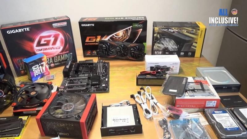 [Всё включено! All inclusive!] Сборка ГЕЙМЕР ПК GAMING PC RED MONSTER i7 6700K GeForce GTX 1070 1500,- Евро OC G1 и.т.д