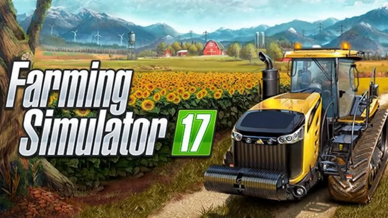 Стрим Farming Simulator 17. Первый взгляд
