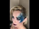 Art make-up ✨ Фэнтезийный макияж ? Моя прекрасная русалка ?♀️