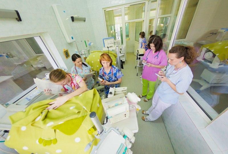 Будущие мамы посетили с экскурсией перинатальный центр в Савеловском