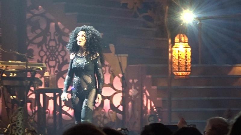 Шоу-концерт Cher Classic Cher в MGM-Park в Лас-Вегасе, май 2018, 12
