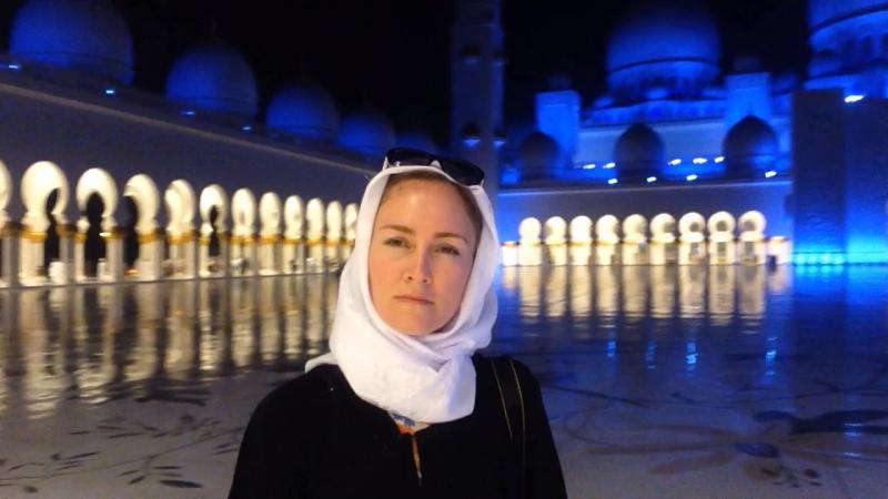 Белая мечеть. Абу-Даби, ОАЭ.
