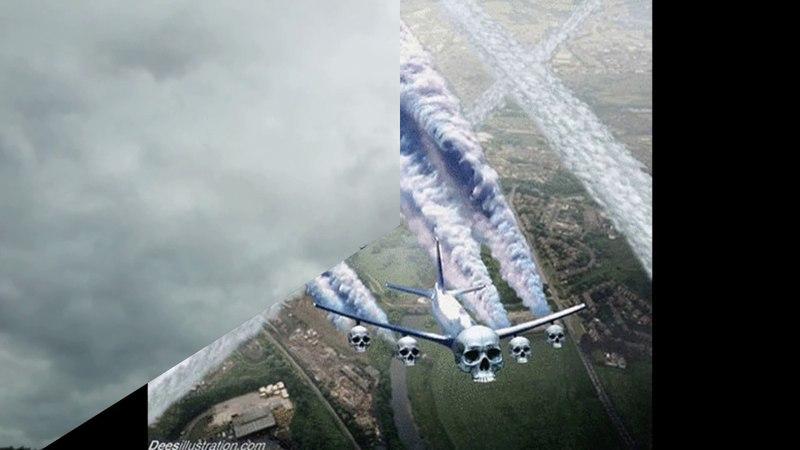 Химтрейлы - нас чем-то травят сверху. Съёмки самолётов без следа на небе