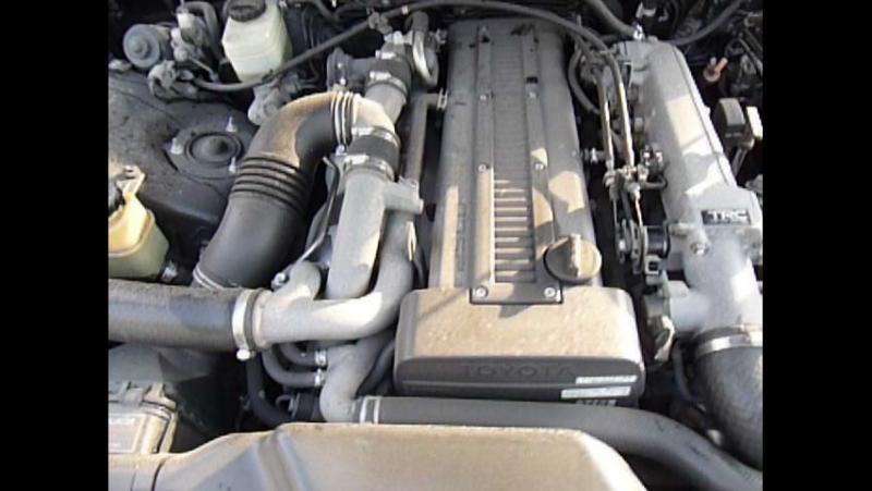Работа двигателя MARK II JZX-90 1JZ-GTE AT 94г.в. пробег ВСЕГО 52 ткм !