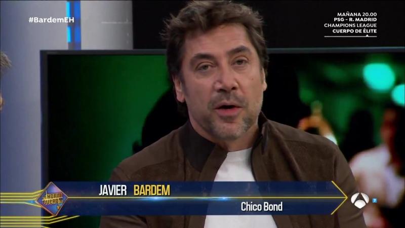 Javier Bardem En Loving Pablo el viaje más heavy lo hace Penélope Cruz - El Hormiguero 3.0