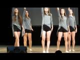 КУКУШКА - В.Цой - Танец девушек под кавер версию песни Виктора Цоя - КУКУШКА