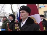 Президентские кадеты получили собственное знамя
