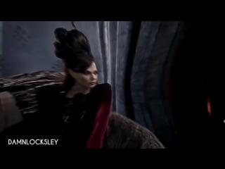 regina & evil queen / ouat vine
