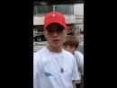 Kiseop Insatlive (with Eli and Hoon) 16.07.18