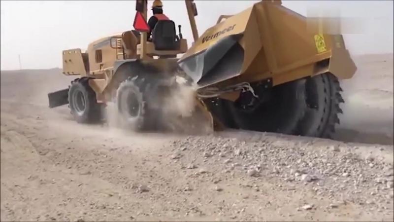 Удивительно Тяжелые Машины_Роторный Экскаватор_Мега Машины_Heavy Machinery_Rotary Excavator_ATW
