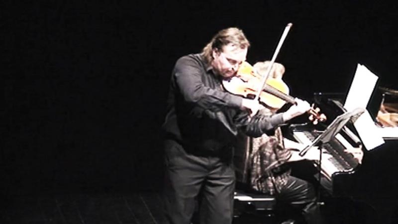 Л.Кошта. Сонатина для альта и фортепиано. 4 часть. Исп. Я.Марр и С.Михайлищева.