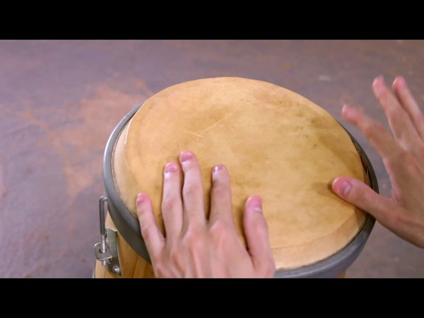 Vídeo Aula de Atabaque - Repique de Samba Cabula 2A