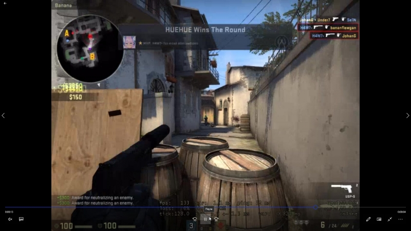 De_inferno H4W7 -4 headshots with ups-s