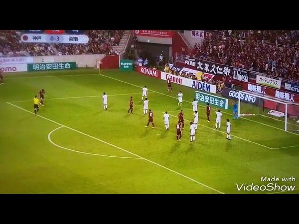 Iniesta has made his debut at J League...